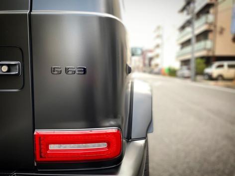 AMG G63 Satin Black