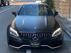 C63s coupe Satin Black