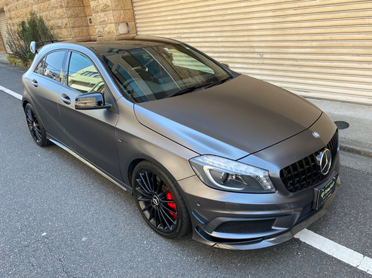 A45s Edition 1 Satin Dark Grey