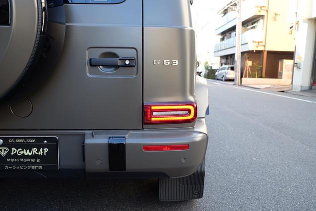G63 Manufaktur PPF ペイントプロテクトフィルム ラッピング