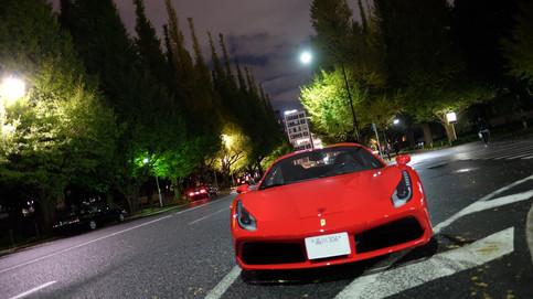 フェラーリ Ferrari 488 Spider スパイダー ペイントプロテクションフィルム PPF