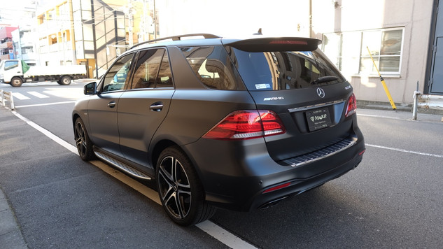 GLE Satin Black