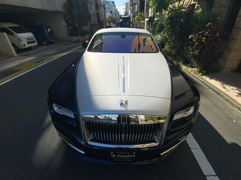 Rolls Royce Wraith Matte Silver Metallic