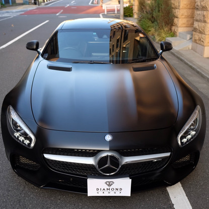 AMG GT Satin Black