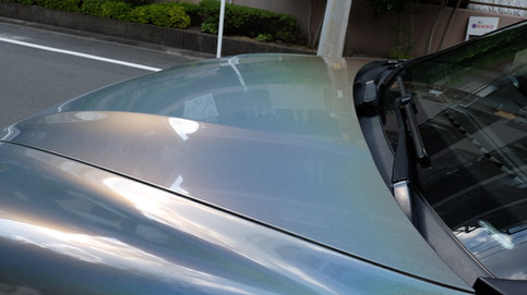 Porsche Cayenne Gloss Flip Psychedelic フルラッピング