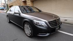Maybach S600 Satin Black/Grey