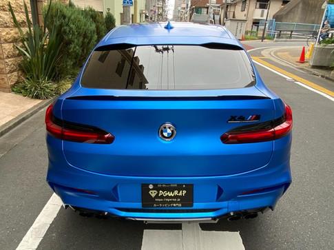 X4M Satin Blue