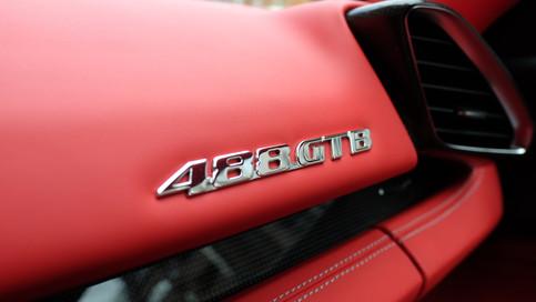 フェラーリ 488 GTO ペイントプロテクトフィルム
