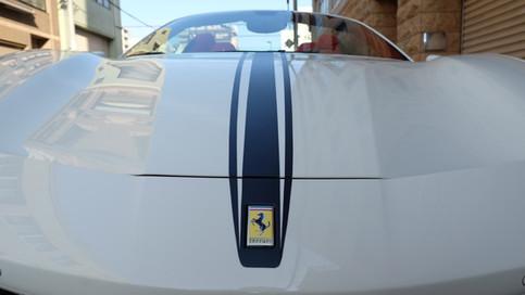 フェラーリ Ferrari 488 Spider スパイダー レーシングストライプ