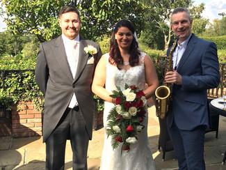 Congrats to Alex & Liam :-)