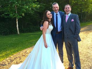 'Congrats' to Lizzie & Chris...