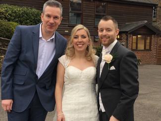 Congratulations to Ian & Nicky...