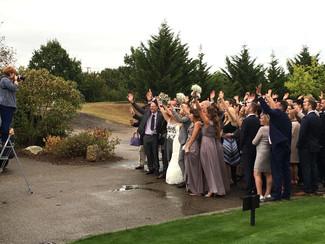 Dionne & Simon's wedding...