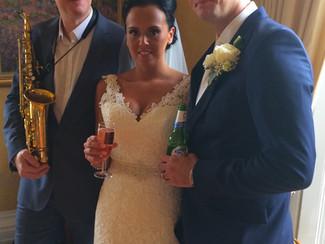 Congrats to Jo & Steve @ Fennes...