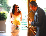 Solidsax playing for your Wedding