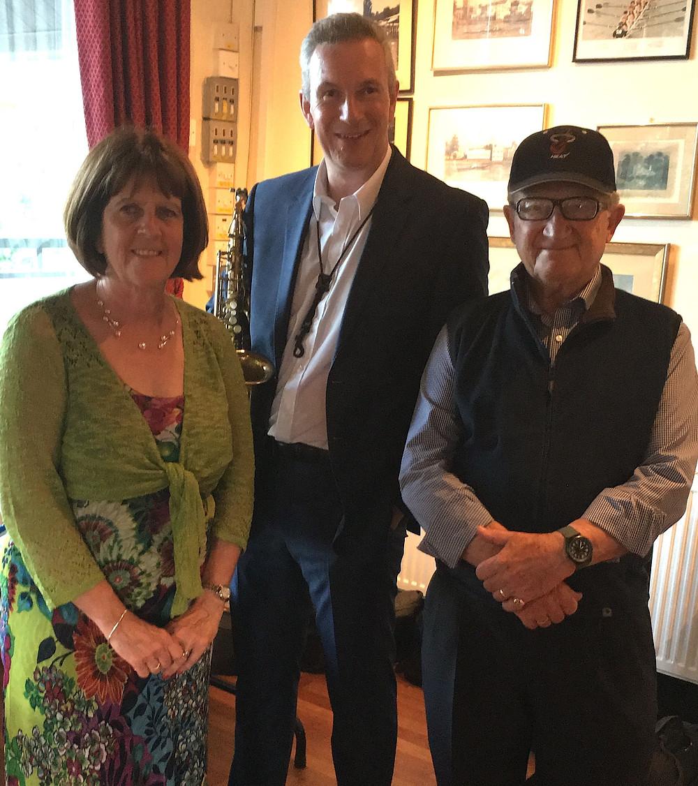With Paula & John