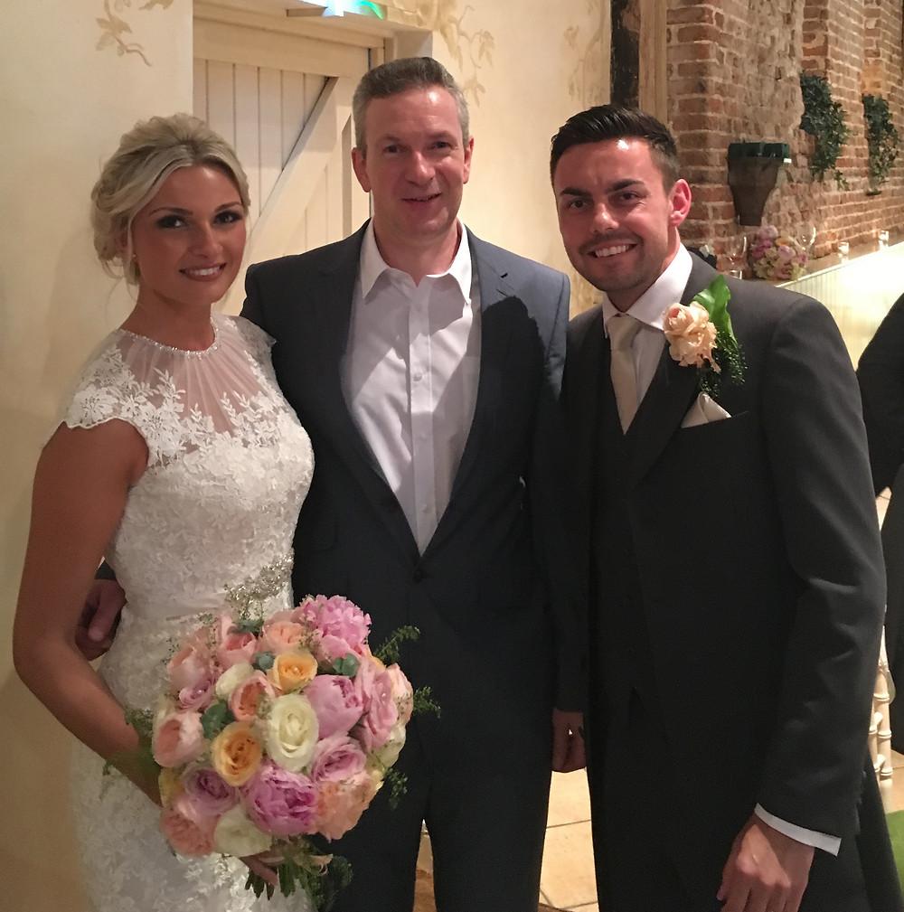 Congratulations to Georgina & Danny.