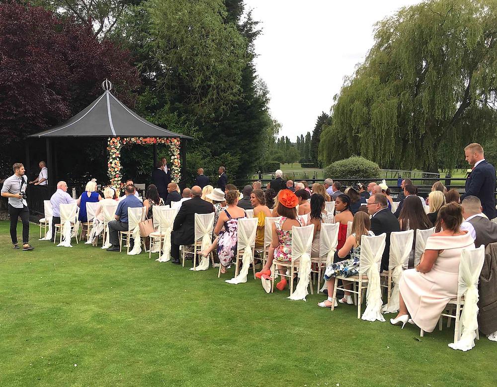 Carly & Dan's ceremony