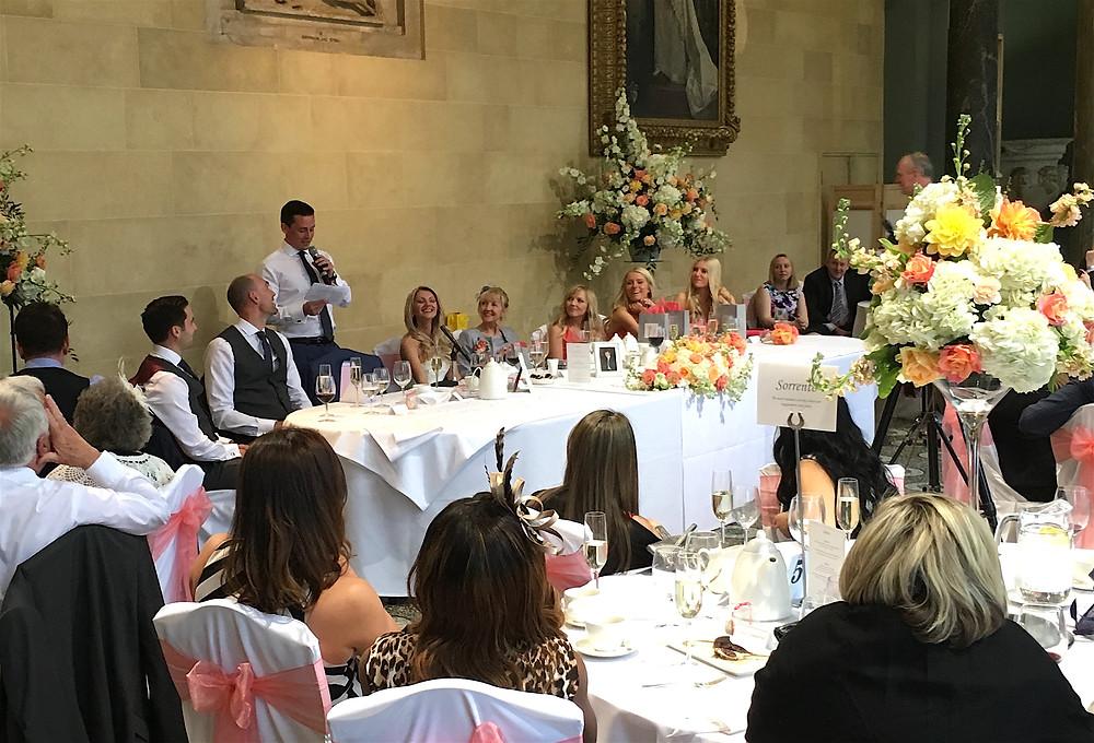 Hazel and Jordan's wedding at Woburn Abbey...