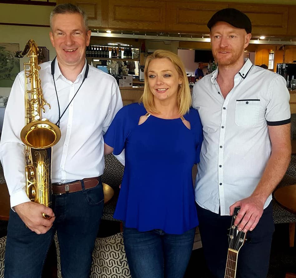Ian Thompson with Ben Hackett & Alison Jennings