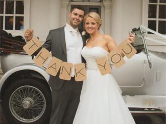 Chloe & Brett's wedding...