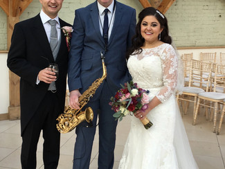 Congratulations Amy & Richard!