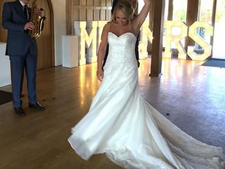 Congratulations to Jemma & Chris! :-)