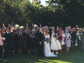 Rebecca & Phillip's wedding...
