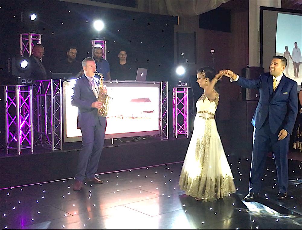 Vanisha and Jay's first dance...