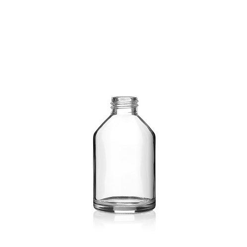 """בקבוק זכוכית מעוצב - 150 מ""""ל"""