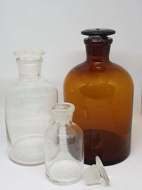 """בקבוק רוקחים חום-ריאגנט 1000 מ""""ל"""