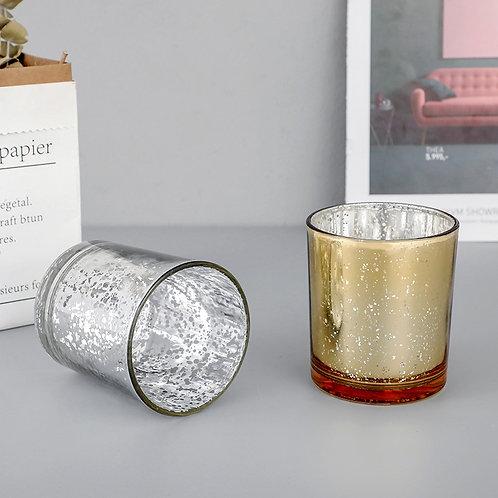 כוס זכוכית דקורטיבית לנר-גדול