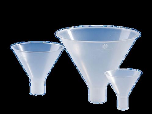 """משפך פלסטיק לאבקות-65 מ""""מ"""