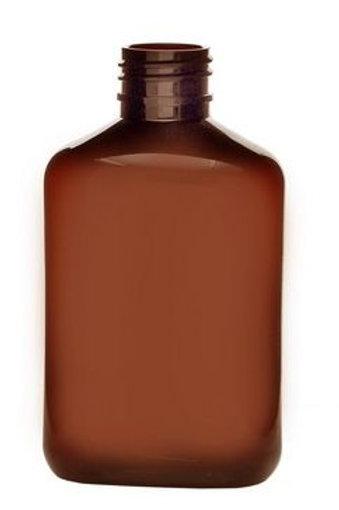 """בקבוק פלסטיק מלבני 250 מ""""ל"""