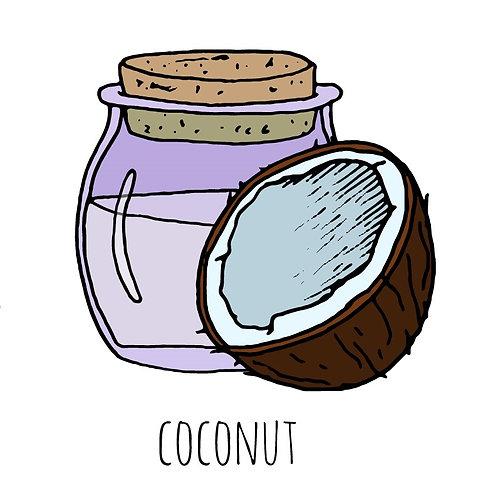 שמן קוקוס לקוסמטיקה-מזוכך