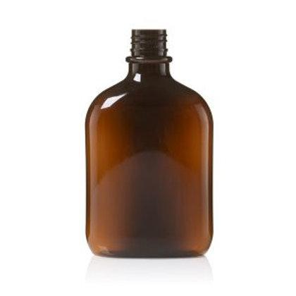 """בקבוק פלסטיק אובלי 250 מ""""ל"""