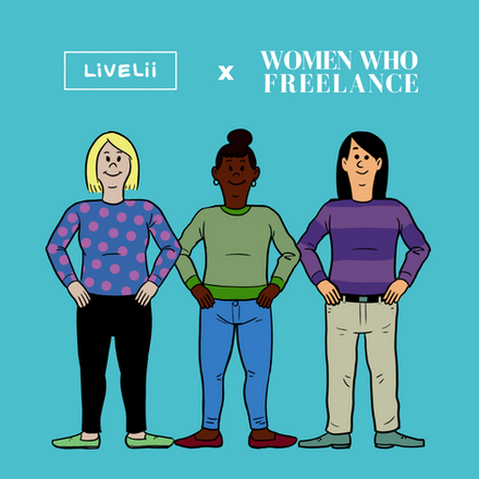 NEW PARTNERSHIP: Livelii and Women Who Freelance!