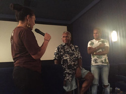 Blessed to have director of Blackbird _amiebatalibasi's father present for our screening and Q&A aft