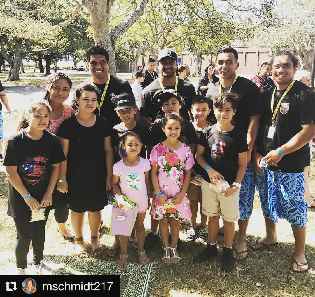 #Repost__mschmidt217_with__repostapp_・・・_Kids_with_the_NRL_boys_#pffmoana_#pasifikafestivalmoana_#mo