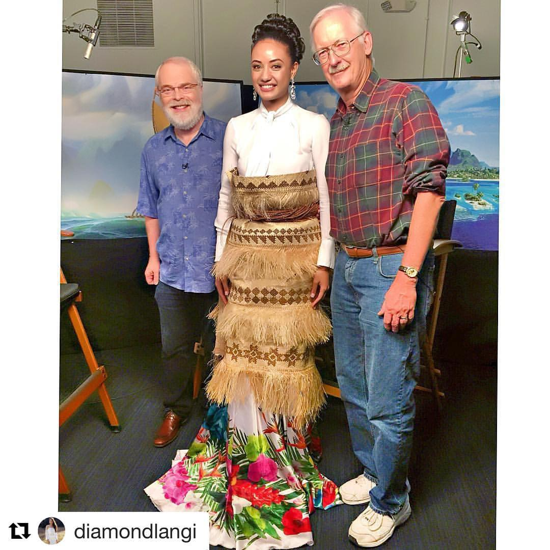 AMAZING! Our PFF Ambassador _diamondlangi with directors of _disneysmoana
