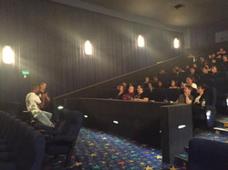 Q&A after our TALANOA SHORTS SESSION with actor from Blackbird _jeremybobby!