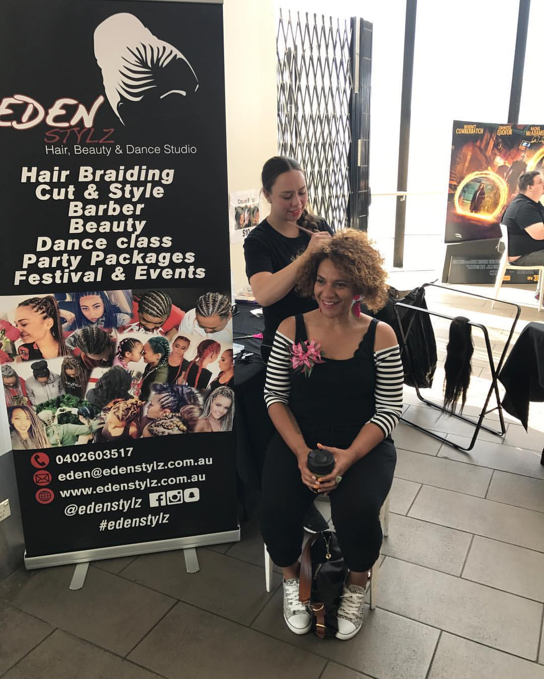 _NESIAN HAIR DON'T CARE HUB_  Come and get your natural hair DID before our screening of Tales of Oc