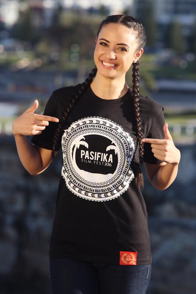 Want to rock our Charke Inc Design & Clothing PFF 2016 Tee like ambassador Diamond Langi