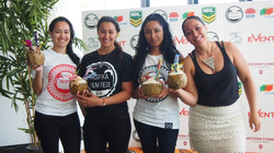 PFF Squad! Volunteers and PFF team members enjoying the fruits of their hard work ;-) #pasifikafilmf