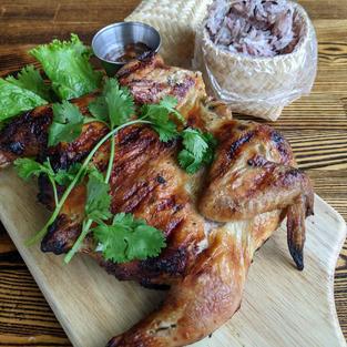 Thai BBQ Cornish Hen  $22