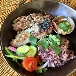 Thai Style Grilled Pork Neck