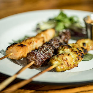 Eclectic Satay Selection