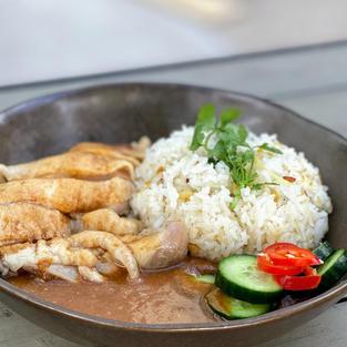 Thai Style Steamed Chicken  $12