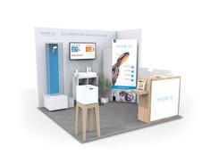 HYDRAO | stand d'exposition | design de produit