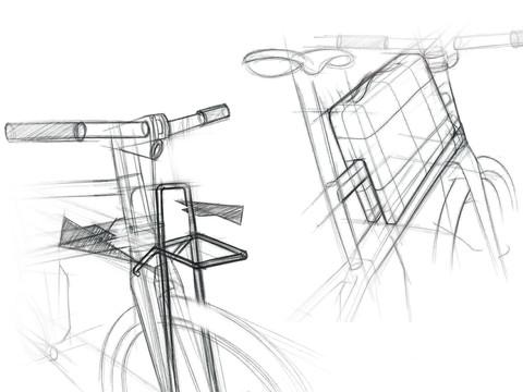 BELLATRIX | vélo électrique urbain | design de produit